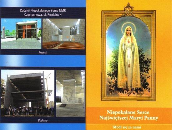 Obrazek wydany z okazji Odpustu Parafialnego w czerwcu 2009 (strona 1)