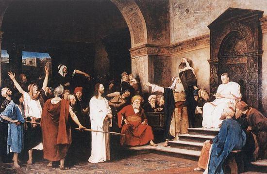 Jezus przed Piłatem