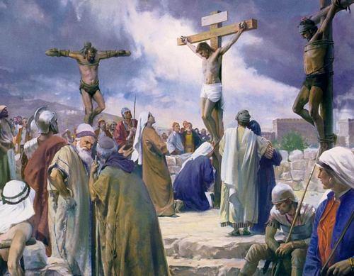 Śmierć na krzyżu