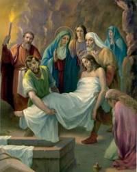Złożenie Pana Jezusa do grobu